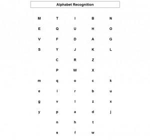 ABC recognition test