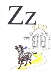 "English Alphabet: Letter ""Z"""