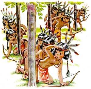 Ten Little Indians: One little, two little, three little Indians...