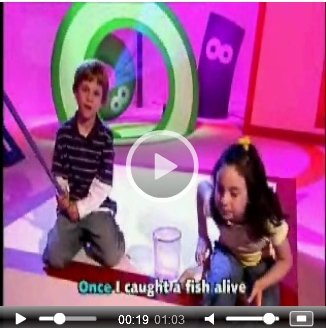 One, Two, Three, Four, Five – Once I caught a fish alive