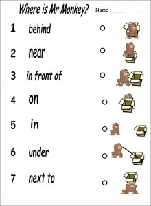 English 4 Kids: Where Is Mister Monkey