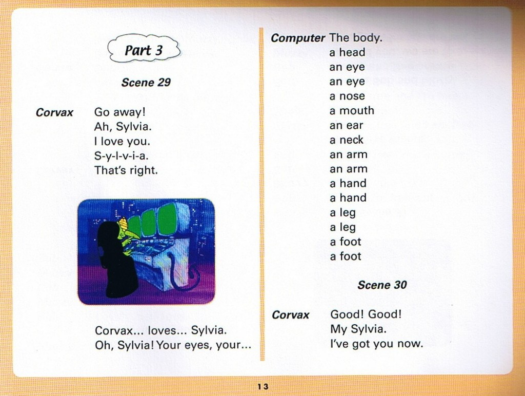 Смотреть мультфильм Muzzy in Gondoland (3). Английский текст мультфильма - 1.