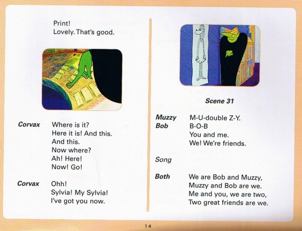 Смотреть мультфильм Muzzy in Gondoland (3). Английский текст мультфильма - 2.