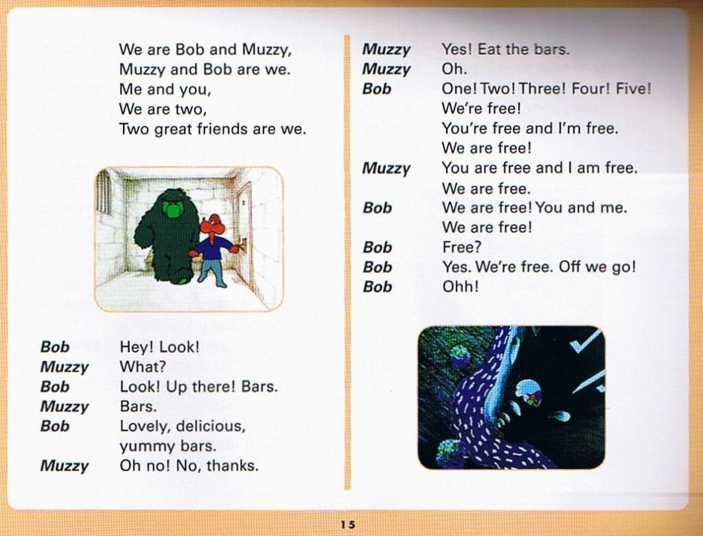 Смотреть мультфильм Muzzy in Gondoland (3). Английский текст мультфильма - 3.