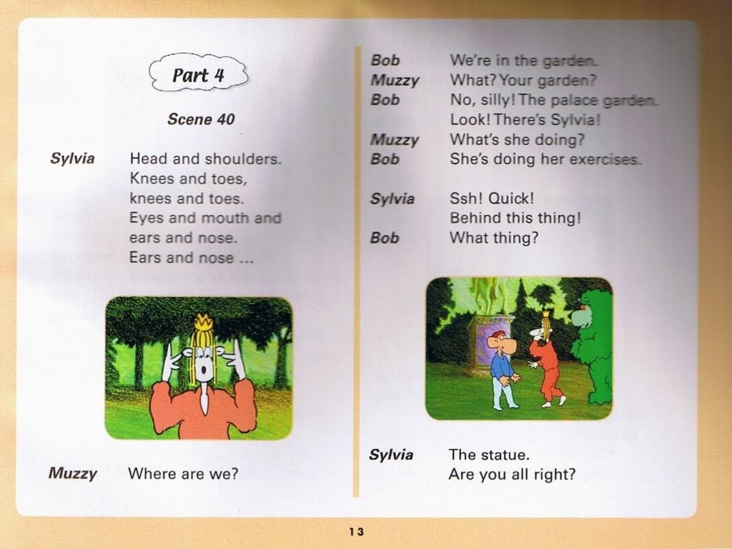 Смотреть мультфильм Muzzy in Gondoland (4). Английский текст мультфильма - 1.