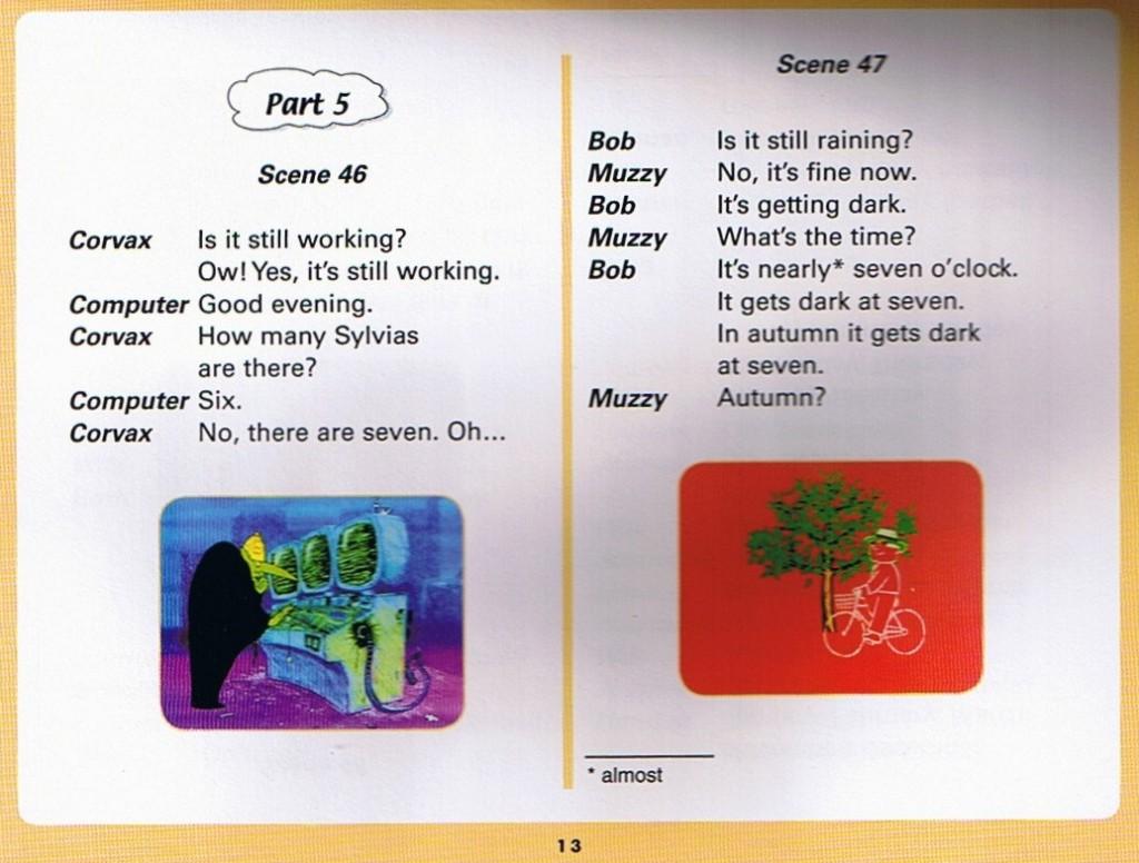 Смотреть мультфильм Muzzy in Gondoland (5). Английский текст мультфильма - 1.