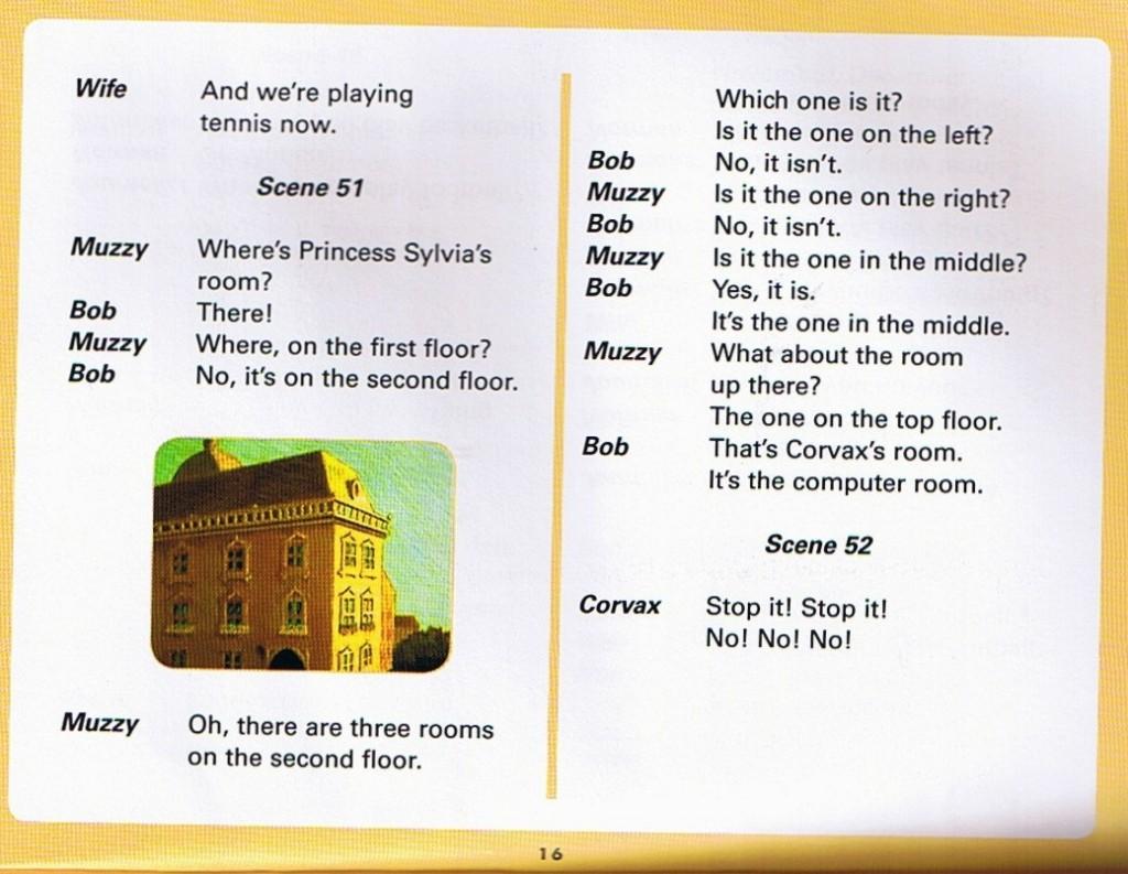 Смотреть мультфильм Muzzy in Gondoland (5). Английский текст мультфильма - 4.