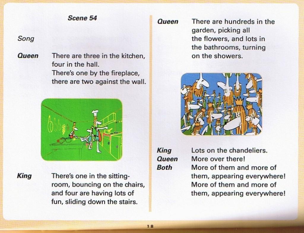 Смотреть мультфильм Muzzy in Gondoland (5). Английский текст мультфильма - 6.