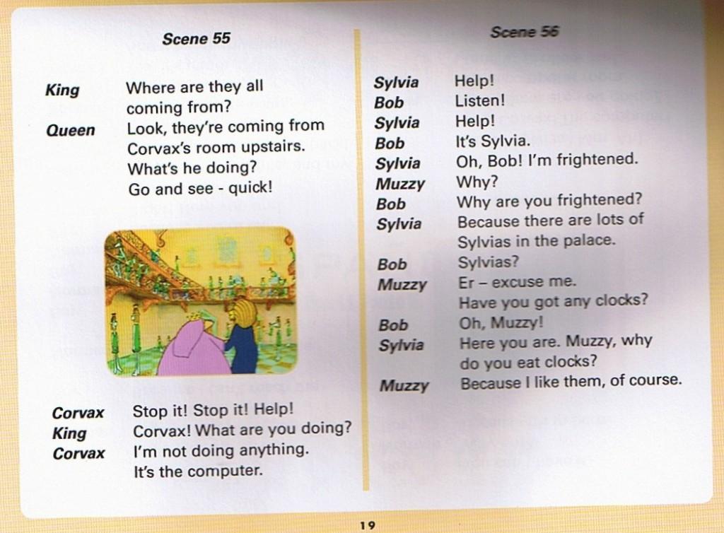 Смотреть мультфильм Muzzy in Gondoland (5). Английский текст мультфильма - 7.