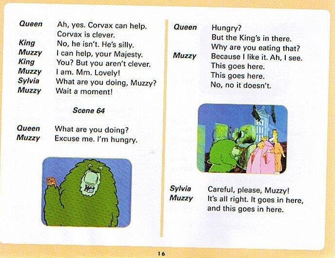 Смотреть мультфильм Muzzy in Gondoland (6). Английский текст мультфильма - 4
