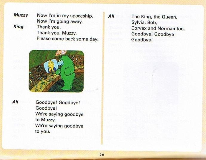 Смотреть мультфильм Muzzy in Gondoland (6). Английский текст мультфильма - 8