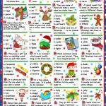 Christmas Quiz: Рождественская викторина (по-сложнее).