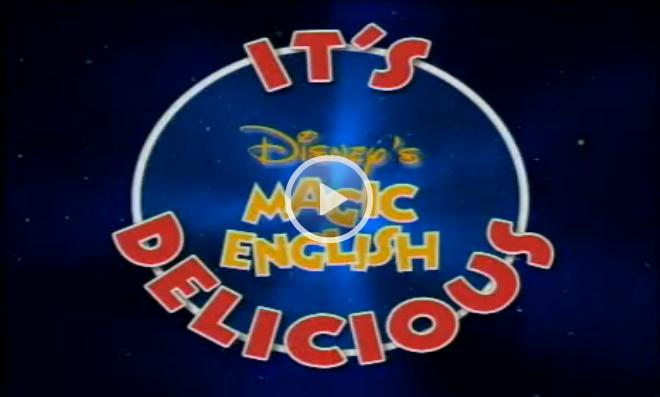 Magic English Cartoons: It's Delicious