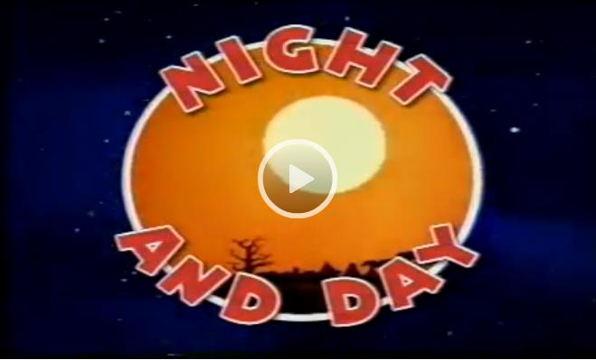 Magic English Cartoons: Night And Day