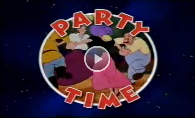 Magic English Cartoons: Party Time (Время веселья)