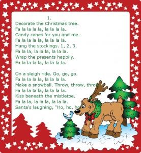 Christmas-song №2 (1) (Очень простая новогодняя песенка для детей на английском языке)