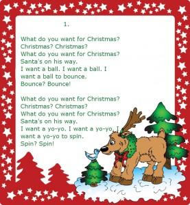 Christmas-song №3 (1) (Очень простая новогодняя песенка для детей на английском языке)