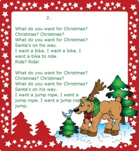 Christmas-song №3 (2) (Очень простая новогодняя песенка для детей на английском языке)