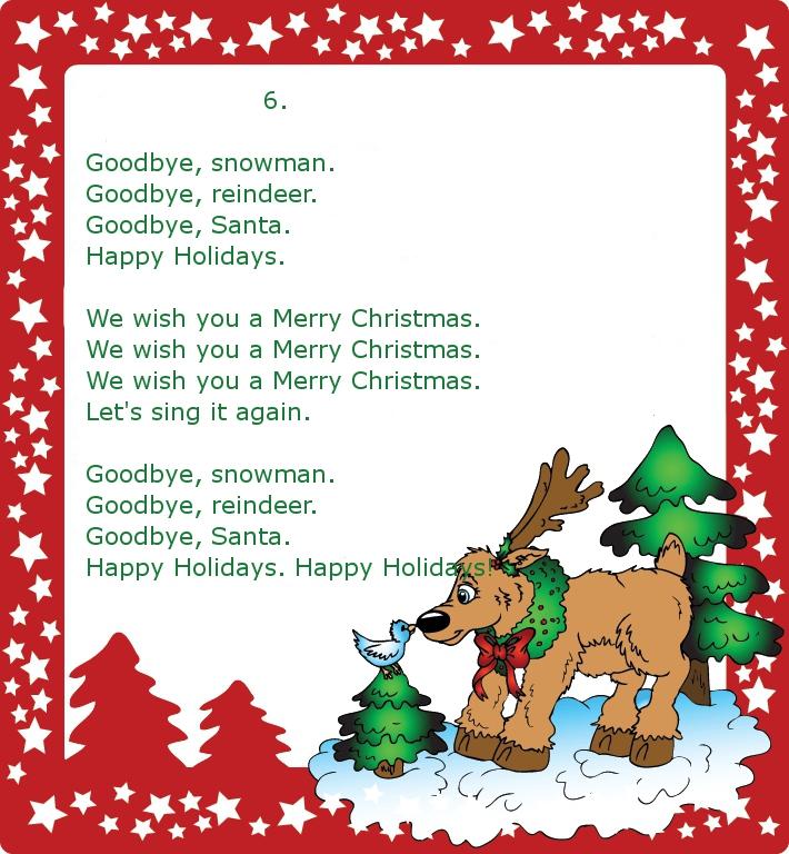 Песенка на новый год на английском