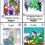 Карточки для игр по теме Рождество (3)