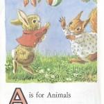 Карточки с английским алфавитом и стишками для детей: А.
