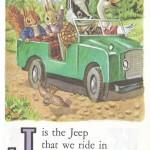 Карточки с английским алфавитом и стишками для детей: J.
