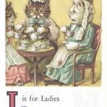 Карточки с английским алфавитом и стишками для детей: L.