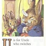 Карточки с английским алфавитом и стишками для детей: U.
