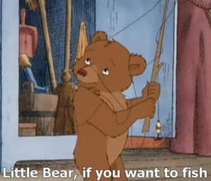 Little Bear: Gone Fishing.