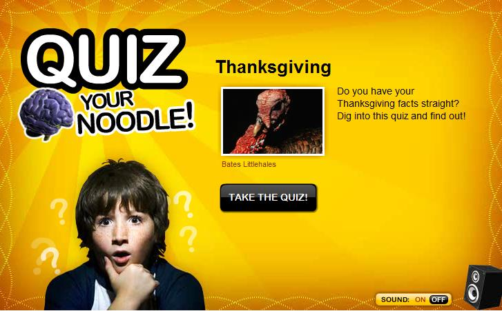 Викторина: Thanksgiving Quiz