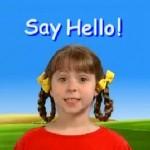 English song: Say Hello