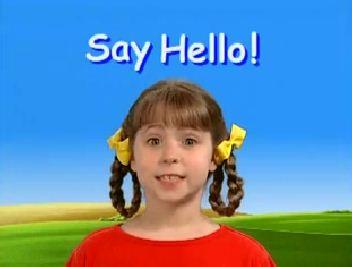 Песенка на английском Say Hello