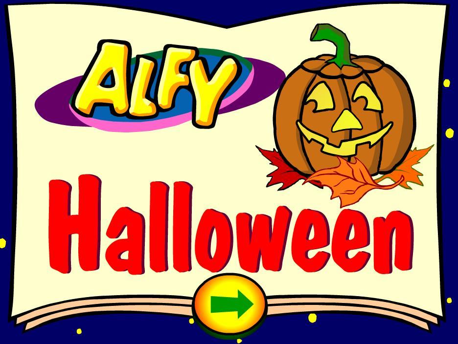 Alfy Halloween: Онлайн игра для школьников на английском языке. Кликни, чтобы играть.