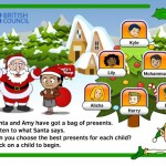 English game for kids: Choose Christmas Presents