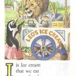 Карточки с английским алфавитом и стишками для детей: I.