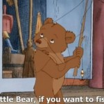 Little Bear: Gone Fishsing.